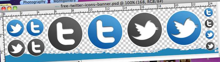 FREE twitter circle icon