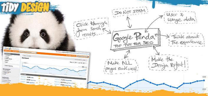 Google Panda Top Tips for SEO