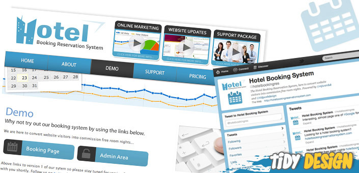 Online ticketing system tidy design blog for Design hotel booking system