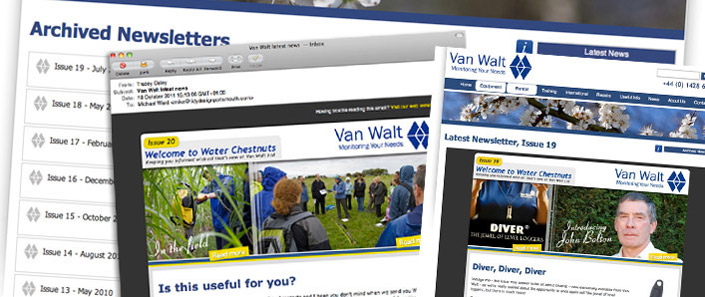 Bespoke Newsletter Designs and Email Templates