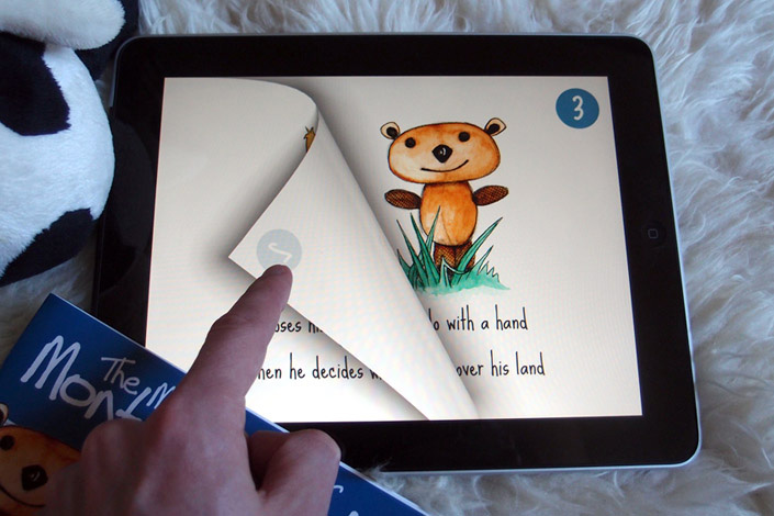 iPad books for kids