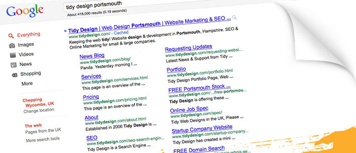 SEO Myth: We need to focus on a landing page