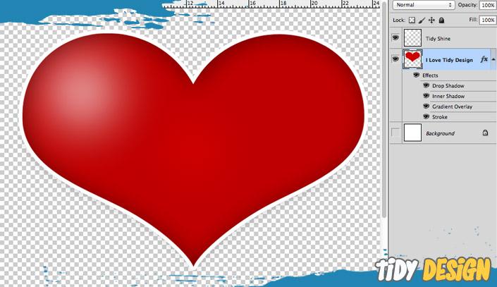 FREE Heart PSD