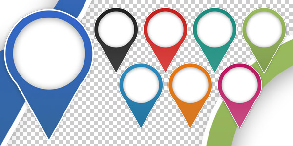 FREE Map Marker Icons