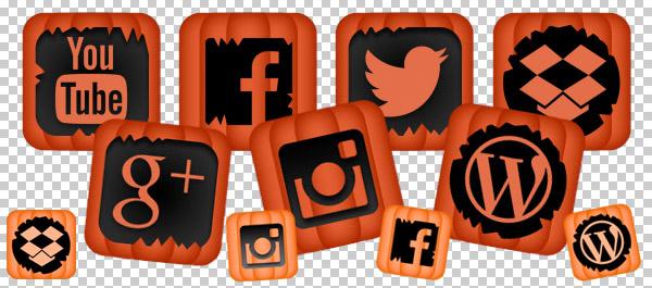FREE Social Pumpkin Icons
