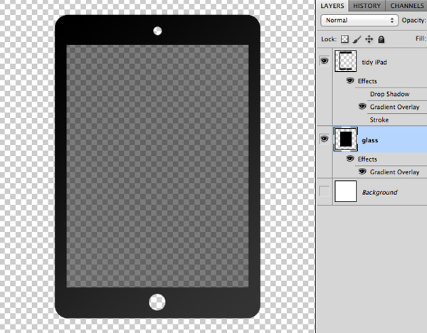 FREE iPad Icon PSD