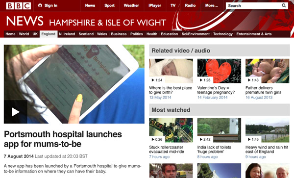 NHS Project Featured on the BBC