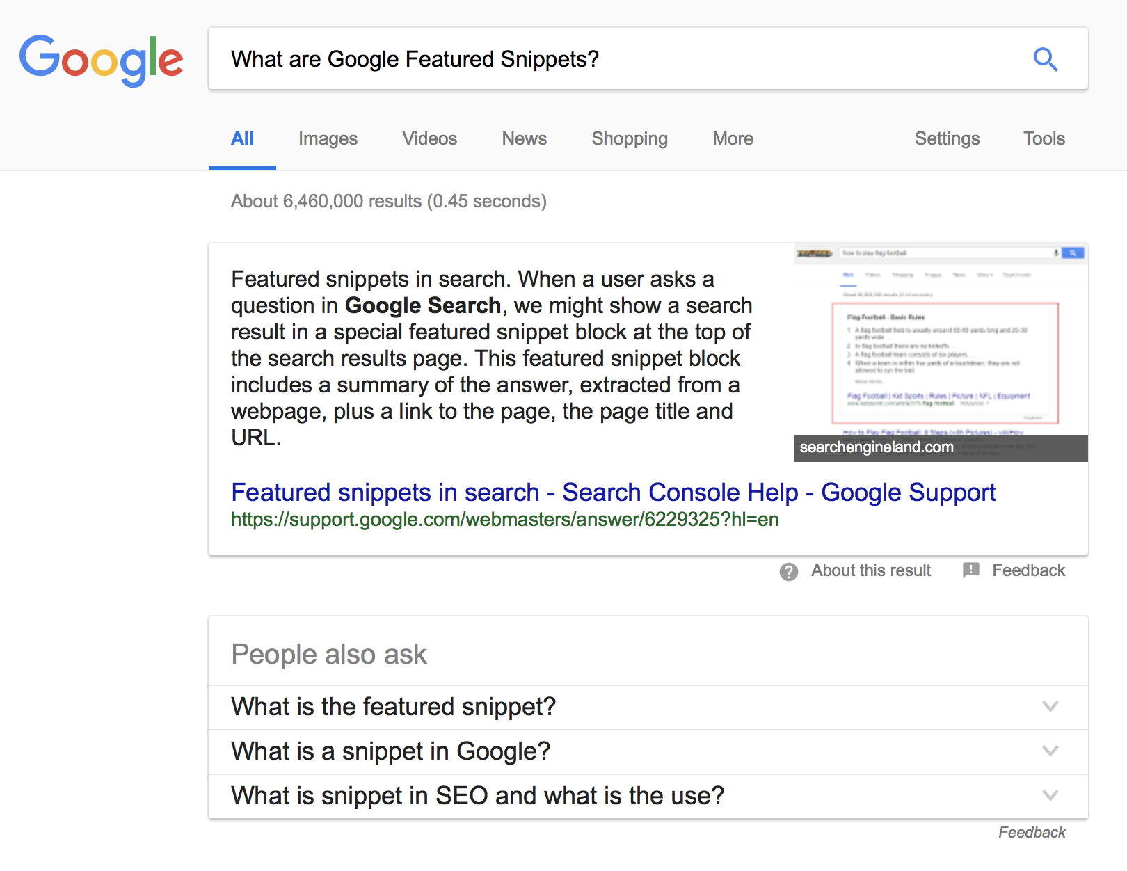 What are Google Featured Snippets?