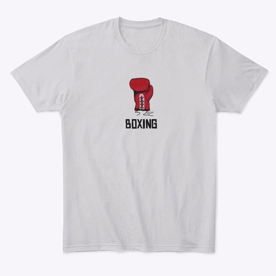 Boxing T-shirt Design